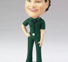 Female Nurse Bobble Head