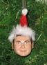 Custom Santa Bobblehead Ornaments