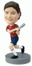 Custom Softball Player Bobbleheads