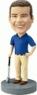 Custom Male Golfer Bobbleheads