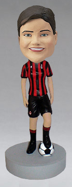 Female Soccer Player Bobblehead