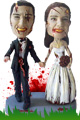 Wedding Day Massacre Zombie Couple