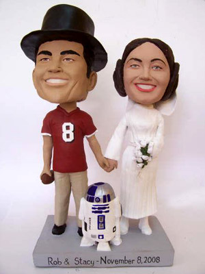 Star Wars Wedding Cake Topper